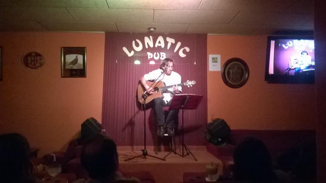 Daniel Cerda en Lunatic 2014