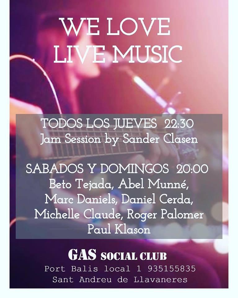 Gas Social Club Daniel Cerdà